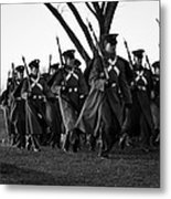 The March Begins Inauguration2013 Metal Print