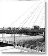 The Marine Road Bridge Southport 2 Metal Print