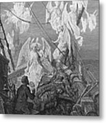 The Mariner Sees The Band Of Angelic Spirits Metal Print