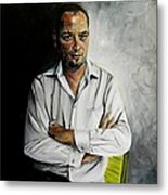 The Marketing Man Metal Print