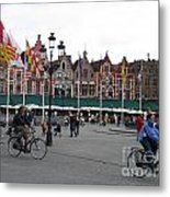 The Markt Bruges Belgium Metal Print