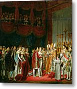 The Marriage Of Napoleon I 1769-1821 And Marie Louise 1791-1847 Archduchess Of Austria, 2nd April Metal Print