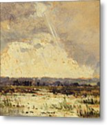 The Marsh In The Souterraine, 1842 Metal Print