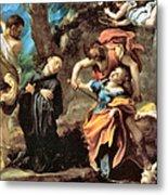 The Martyrdom Of Four Saints Metal Print
