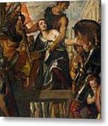 The Martyrdom Of Saint Mena Metal Print