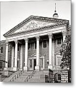 The Maryland State House Metal Print