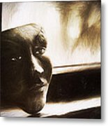 The Mask Sketch Metal Print