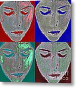 The Mask Metal Print