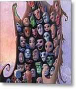 The Mask Vendor Metal Print
