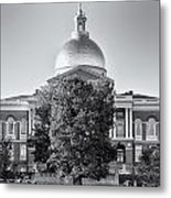 The Mass State House Metal Print