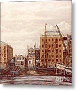 The Mayfloer Pub Rotherhithe London Metal Print
