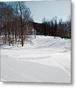 The Mccauley Mountain Ski Area Metal Print