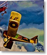 The Mean French Skies Metal Print