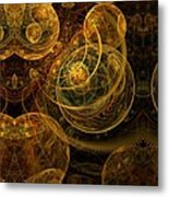 The Mechanical Universe Metal Print