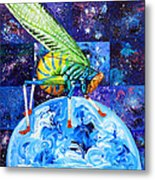 The Meek Shall Inherit The Parallel Universes Metal Print