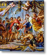 The Meeting Of Abraham And Melchizedek Metal Print