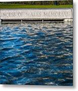 The Memorial Fountain Metal Print