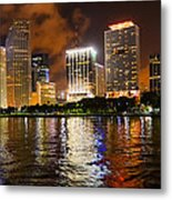 The Miami Guardian Metal Print