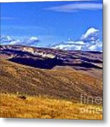 The Middle Of Nowhere Metal Print