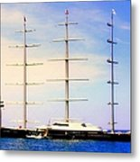 The Mighty Maltese Falcon Metal Print