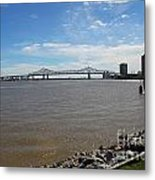 The Mighty Mississippi Metal Print