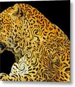 The Mighty Panthera Pardus Metal Print