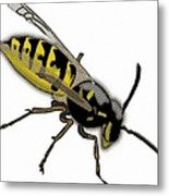 The Mighty Wasp Metal Print