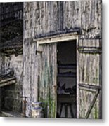 The Milk Can Metal Print