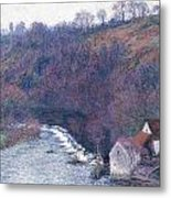 The Mill At Vervy Metal Print