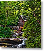 The Mill Paint 2 Metal Print