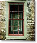 The Mill Window  Metal Print