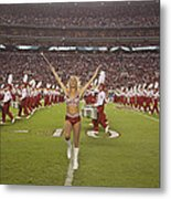 The Million Dollar Marching Band Of The University Of Alabama Metal Print