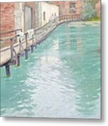 The Mills At Montreuil Sur Mer Normandy Metal Print by Fritz Thaulow