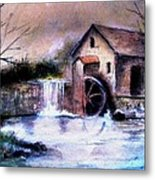 The Millstream Metal Print