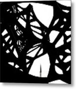 The Minaret And Art Metal Print