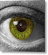 The Minds Eye Black And White Metal Print
