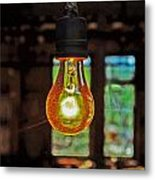 The Miner Light Metal Print