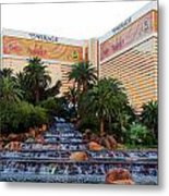The Mirage Metal Print by Andrea Dale