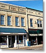 The Mitchell Buildings Metal Print