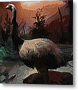 The Moa Metal Print