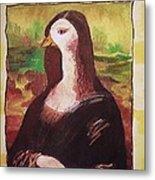 The Mona Goosa Metal Print