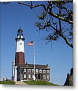 The Montauk Point Lighthouse Metal Print