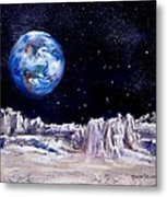 The Moon Rocks Metal Print by Jack Skinner