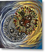 The Moon's Eclipse Metal Print
