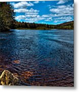 The Moose River In The Spring Metal Print