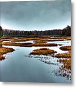 The Moose River - Old Forge New York Metal Print