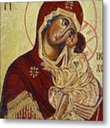 The Mother Of God -the Don Icon Metal Print