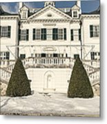 The Mount Edith Warton Estate Lenox Ma Metal Print