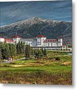 The Mount Washington Hotel Metal Print