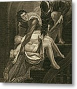 The Murder Of The Two Princes Metal Print